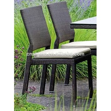 2016 stylish wicker outdoor furniture rattan dining room chair