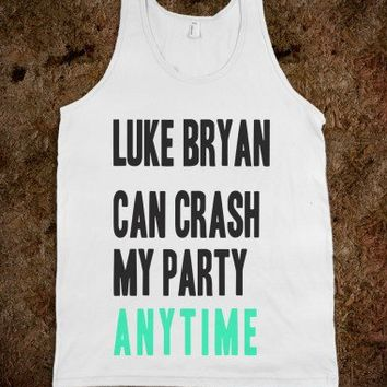 Luke Bryan Can Crash My Party