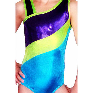 Gymnastics Leotard Girl's Mystique McKenna Style American Gymnast Gymnastic Leotard Sz Toddler - Adult cxs cs cm cl axs as am al