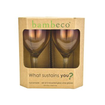 Bambeco Rioja Recycled Wine Glass - Case Of 6