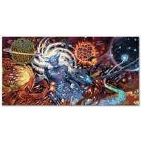Rings of Saturn 'Lugal Ki En Banner Flag'