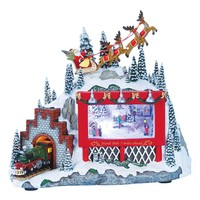 Roman Musical Billboard & Train LED Christmas Decoration | Nordstrom