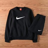 Nike Fashion Contracted Round Neck Casual Long Sleeve Print Two Piece Set G-ZDL-STPFYF