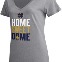 Under Armour University of Notre Dame Women's V-Neck T-Shirt | University Of Notre Dame