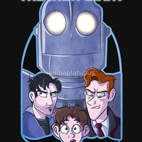 'The Iron Giant' T-Shirt by immaplatypus