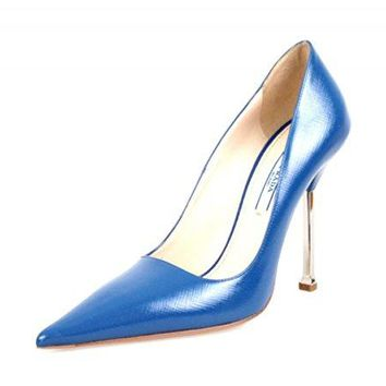 Prada Women's 1I831D Saffiano Leather Pumps/Heels