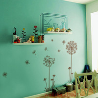 Wall Decals Wall Stickers Graphic Art Dandelions by walldecals001