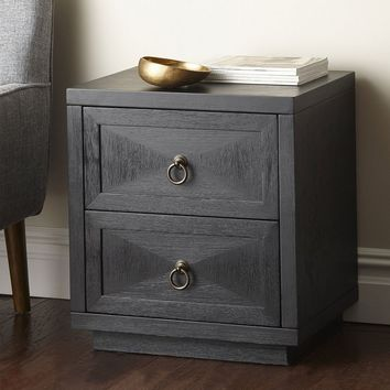Fairmont Collection – 2-Drawer Side Table