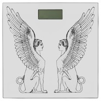 Vintage Sphinx illustration Bathroom Scale