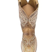 Women's Tan Damiana Boot - BRL212