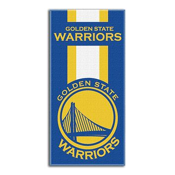 Golden State Warriors Summer Fun 30x60 Beach Towel