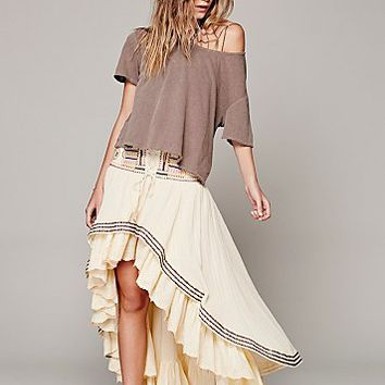 Free People Womens Rises in the East Skirt