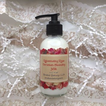 Rejuvenating Rose Geranium Cleansing Milk