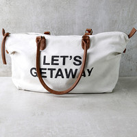 Billabong Bali Bliss Cream Weekender Bag