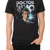 Doctor Who Tenth Doctor Collage T-Shirt