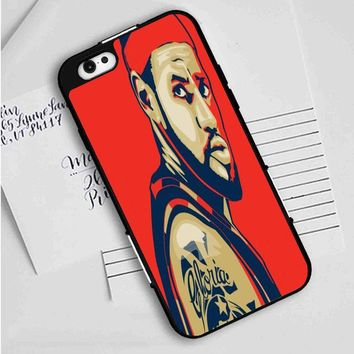 LeBron James anime iPhone Case