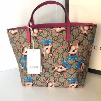 GUCCI Women / Girls GG fawns tote