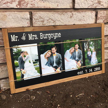 Rustic wedding sign, wedding welcome sign, wedding gift, bridal shower gift, framed sign, bride to groom gift, groom to bride gift, home