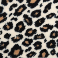 Leopard Print Blanket, Fleece Tie Blanket, No Sew Blanket, Fleece Fringe, Throw Blanket, Pet Blanket, Knotted Blanket, Woobie, Infant Gift