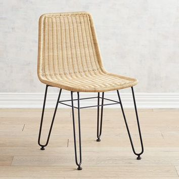Jack Modern Wicker Dining Chair