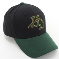 The New HD Embrroidery Color Blocking Cotton Outdoor Baseball Cap Hat
