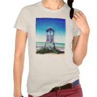 Sweet Faded Summer Beach Chair T-Shirt