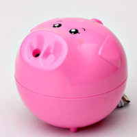 Aroma Essential Oil Diffuser Air Humidifier/PIG-Pink