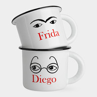 Frida and Diego Mugs