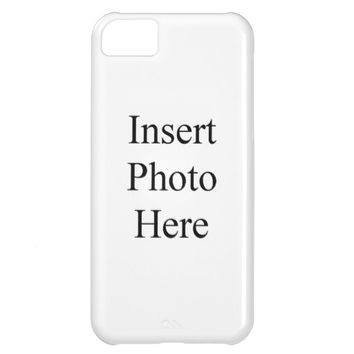 Personalized Case-Mate Barely There iPhone 5C Case