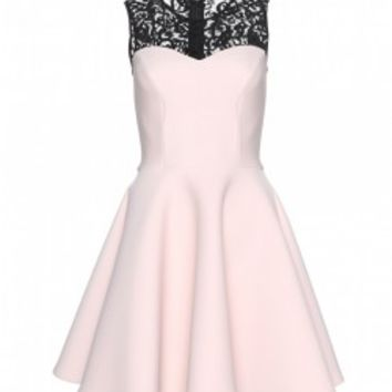 Princess Style Lace Split Joint Dress