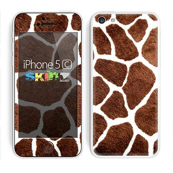 The Real Giraffe Animal Print Skin for the Apple iPhone 5c