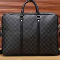 LV fashion business bag[381536993316]