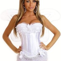Daisy Corset 4 PC Sexy Angel Costume with Wings