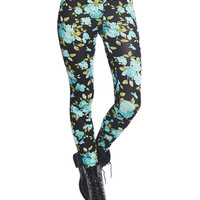 Bright Floral Legging | Wet Seal