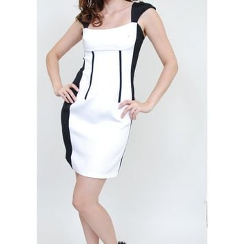Jay Godfrey Ferguson Slim Color Block Dress