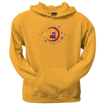 Grateful Dead - Moon Swing Pullover Hoodie Yellow