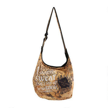 Harry Potter I Solemnly Swear Hobo Bag | WBshop.com | Warner Bros.