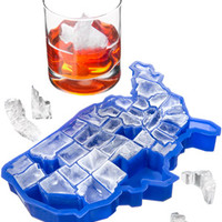 The 'U Ice of A' Ice Cube Tray