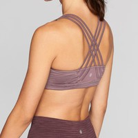 Jacquard Fully Focused Bra|athleta