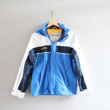 Columbia Ski Jacket Winter Jacket Parka Columbia Windbreaker Hiking Mountain Outdoors Vintage 90s Size M - L