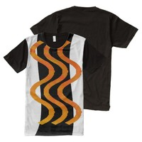 Shimmering Heat All-Over Print T-shirt
