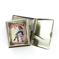 Bizarrre Dominatrix Vintage Cover Art Cigarette Case