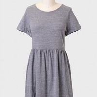 Time Lapse Speckled Dress In Gray