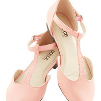 ModCloth Pastel Favorite Treats Flat in Pink