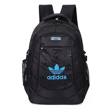 Adidas Fashion Zipper Sport Shoulder Bag Travel Bag  School Backpack