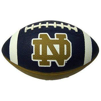 Notre Dame Fighting Irish Official NCAA Hail Mary Youth Size Football by Raw ...