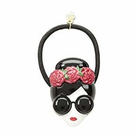 Alice + Olivia Stace Face with Flowers Hair Tie