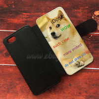 iDoge Shibe Doge Wallet iPhone cases Samsung Wallet Leather Phone Cases