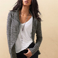 Moto Sweater Jacket - Victoria's Secret