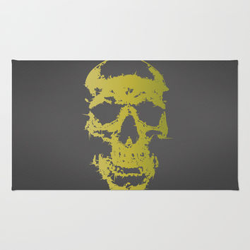 Skull Area & Throw Rug by Rui Faria